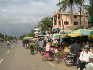 Street Market, Bankok