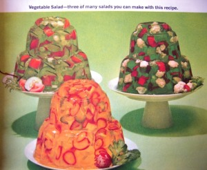 Gelatin vegetable masterpieces