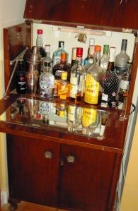 Grandmas cocktail cabinet