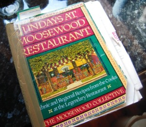 Well-loved Sundays at Moosewood cookbook