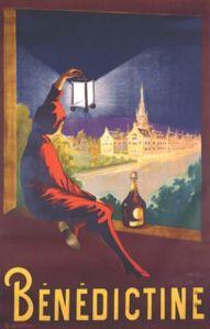 Vintage Benedictine poster