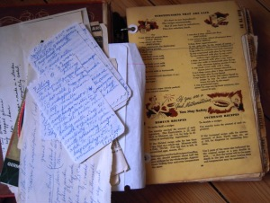 Betty Crocker CB with grandmas notes